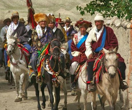 Mustang & Tibetans