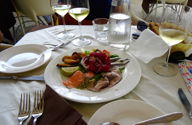 Antipasto to die for. Sicilia