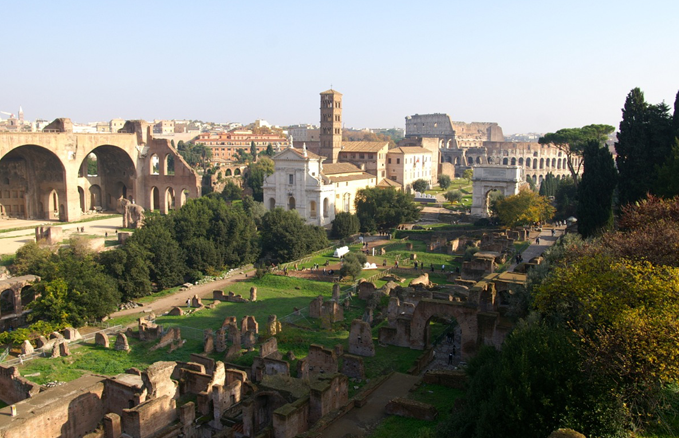 The Forum, Rome: There are some key viewpoints that really open up a sense of how ancient Rome must have looked. Squint and you can time travel! And, of course, ATS will take you to this very spot!